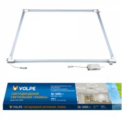 ULO-Q190 6060-36W/4000K WHITE Светильник светодиодный потолочный рамка 595*595мм. Белый свет (4000K). Корпус белый