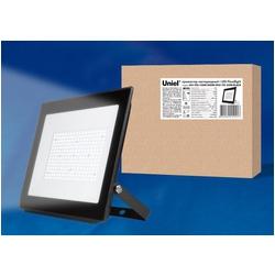 ULF-F20-200W/6500K IP65 195-250В BLACK Прожектор светодиодный. Дневной свет (6500K). Корпус черный.