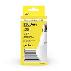 Светодиодная лампа Geniled E27 A60 12Вт 2700К