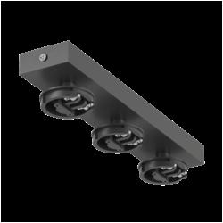 MINI-VL-M13-BL Сменное крепление M3 для светильников VILLY. Черное