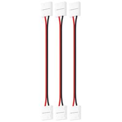 Набор проводов для гибкого соединения одноцветной светодиодной ленты шириной 10 мм 3 шт
