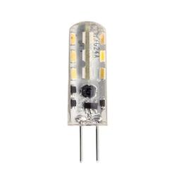 Лампа светодиодная LED-JC-standard 1.5Вт 12В G4 3000К 135Лм. Теплый белый